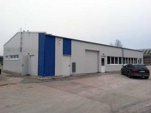 Neubau einer Produktionshalle für die Rekon, Brakel