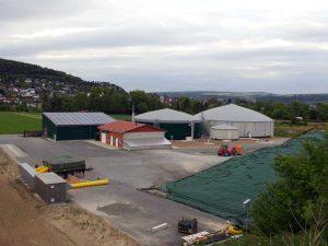 Neubau von Biogasanlagen in Brakel, Beverungen, Istrup und Benhausen.